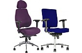 Executive Fabric Manager Office Chairs £200+