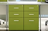 Desk High Drawer Pedestals