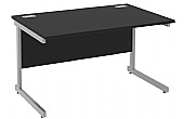 Black Rectangular Desks