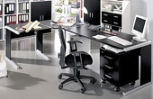 Black & White Office Furniture