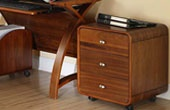 Real Wood Veneer Drawer Pedestals