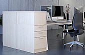Elite Linnea Desk High Pedestals
