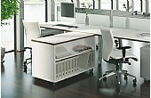 Elite Linnea Desk High Storage
