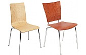 Wooden Bistro Chairs