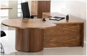 Accent Real Wood Veneer Office Furniture