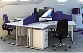 Elite Flexi 120 Degree Desks