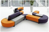 Funky Modular Reception Seating