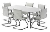 High Gloss Meeting Tables