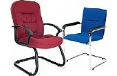 NEXT DAY Fabric Boardroom Chairs