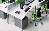BN SQart Workstation Wave Desks