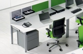 BN SQart Workstation Sloped Desks
