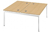 Commerce II Bench Double Starter Desks