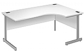 Commerce II White Ergonomic Desks