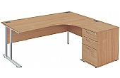 NEXT DAY Commerce II Deluxe Ergonomic Desks