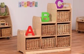 PlayScapes Wooden Storage