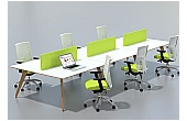 Sven Ligni 6 Person Bench Desk