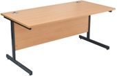 NEXT DAY Karbon Rectangular Desks