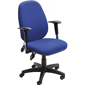 Sofia Inflatable Lumbar Support Operator Chair £162 -
