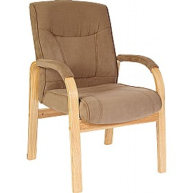 Guildford Suede Visitor Chair