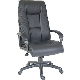 Woolwich Leather Faced Manager Chair £152 - Office Chairs