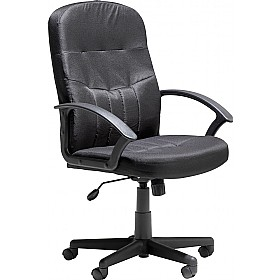 cavalier leather faced manager chair leather office