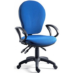 Fraser High Back Synchronised Operator Chair £128 - Office Chairs