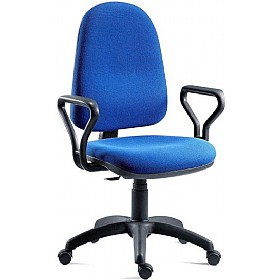 Price Blaster High Back PC Operator Chair £65 - Office Chairs