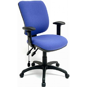Inflatable Lumbar Operator Chair £164 - Office Chairs