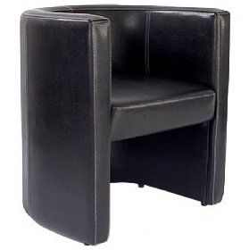 Cardiff Leather Look Tub Chair £154 - Reception Furniture