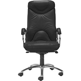 Elf Leather Faced Manager Chair £272 - Office Chairs