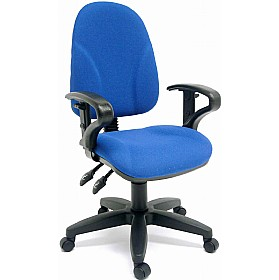 Rhino Ergo High Back Operator Chair £109 - Office Chairs