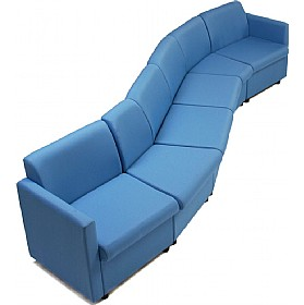 Modular Reception Chairs £112 - Reception Furniture