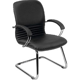 Mirage Leather Faced Visitor Chair £151 - Office Chairs