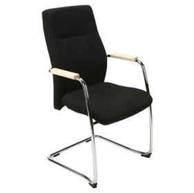 Orlando Leather Faced Visitor Chairs £216 - Office Chairs