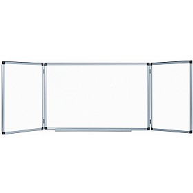 Bi-Office Trio Magnetic Space-Saver Whiteboards £80 - Display/Presentation