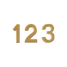 Bi-Office Letter Board Numbers 19mm Gold (Pack of 264) £20 -