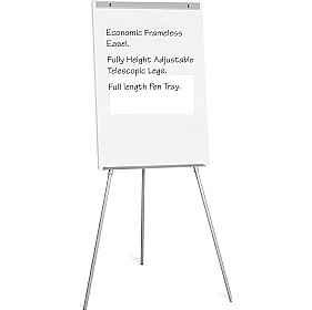 Bi-Office Frameless Flipchart Easel £53 - Display/Presentation