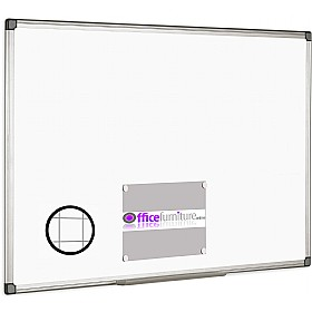 Bi-Office Magnetic Gridded Whiteboard £33 - Display/Presentation