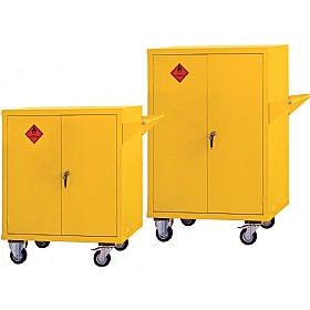 Mobile Flammable Storage Cupboards £584 - Office Cupboards