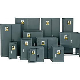 Flammable Storage Cupboards - Grey £156 - Office Cupboards
