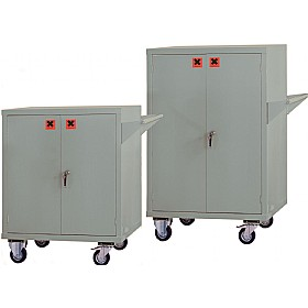 Mobile COSHH Storage Cupboards £502 - Office Cupboards