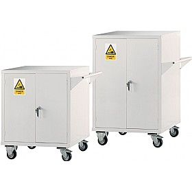 Mobile Acid & Alkali Storage Cupboards £585 -