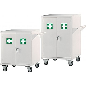 Mobile First Aid Storage Cupboards £550 - Office Cupboards