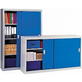 Sliding Door Cupboards - 84 Series £418 - Office Cupboards