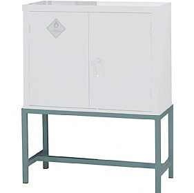 Support Stands (For Flammable Storage Cupboards - Grey) £52 - Office Cupboards