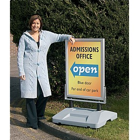 External Poster Stand £248 - Display/Presentation