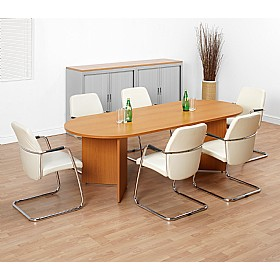 Contract D-End Boardroom Tables £396 -