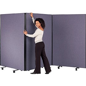 Busyscreen Triple Safety Screens £510 - Office Screens