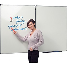 Write-On 3 Spacesaver Whiteboards £97 - Display/Presentation