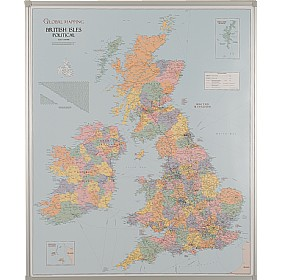 Busyboard UK County Boundaries Map £169 - Display/Presentation